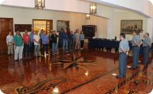 Cerimônia em homenagem a servidores civis aposentados