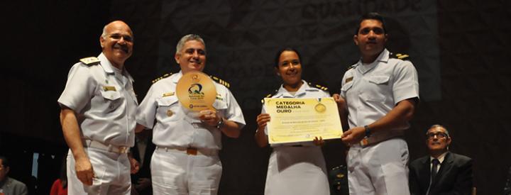 Arsenal de Marinha ganha Medalha Ouro no Prêmio Qualidade Rio