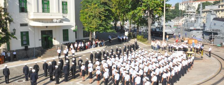 AMRJ realiza cerimônia alusiva aos 152 anos da Batalha Naval do Riachuelo