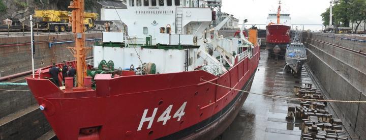 AMRJ inicia preparação dos navios para a XXXVI OPERANTAR