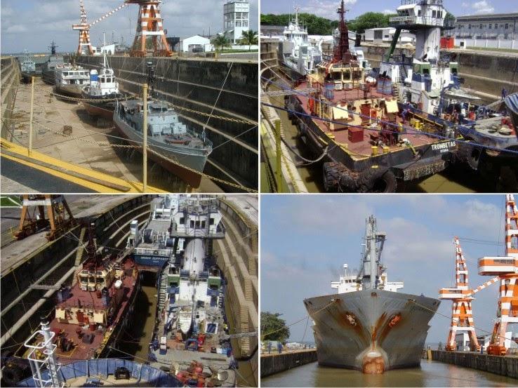 Aqui se garante a presença Naval na Amazônia!