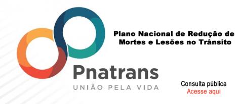 Consulta pública ao Plano Nacional de Redução de Mortes e Lesões no Trânsito