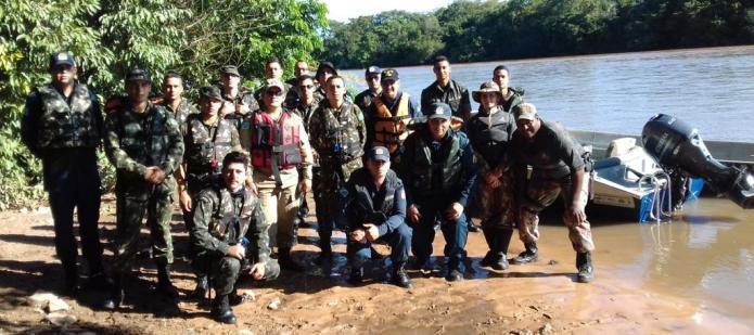Marinha do Brasil, Militares do Exército e Forças Auxiliares, Condução de Embarcações, em Coxim – Ms