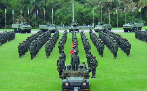 À ocasião, foi realizado um desfile de UAnf