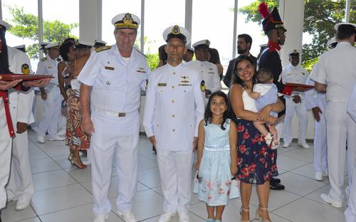 Familiares dos militares prestigiaram o evento