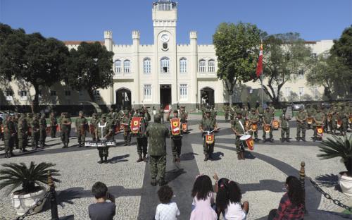 A programação contou com apresentação da Banda Marcial do CFN