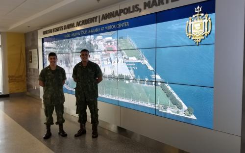 Os Aspirantes tiveram a oportunidade de conhecer diversas Organizações Militares do USMC