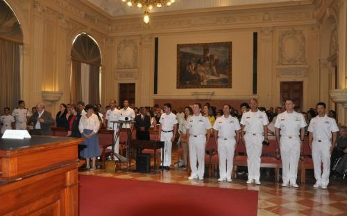 A cerimônia de premiação foi realizada no Museu Nacional de Belas Artes