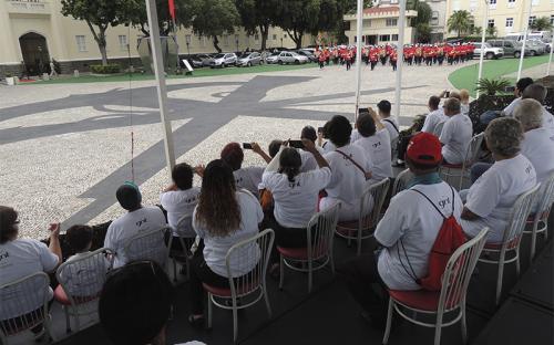 A programação contemplou apresentação da Banda Marcial