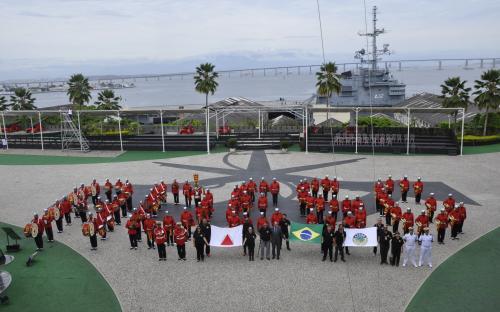 ADESG-BH visitou Fortaleza de São José da Ilha das Cobras