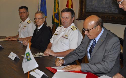 Acordo foi firmado na sede do CGCFN no dia 28 de junho