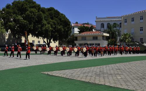 Apresentação da Banda Marcial e do novo CLAnf fizeram parte da programação do evento