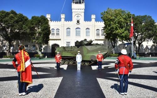 Ato foi presidido pelo Comandante da Marinha