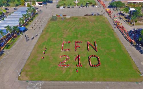 Banda Marcial homenageou os 210 anos do CFN