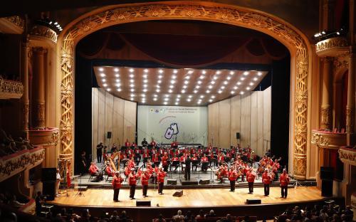 Banda Sinfônica do CFN realizou concertos para 4 mil pessoas no Theatro Municipal