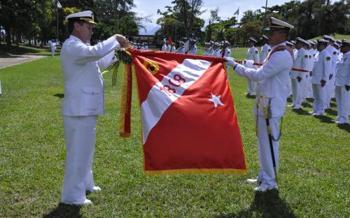 Batalhão Paissandu foi reconhecido pela Marinha do Brasil com a Medalha Mérito Tamandaré