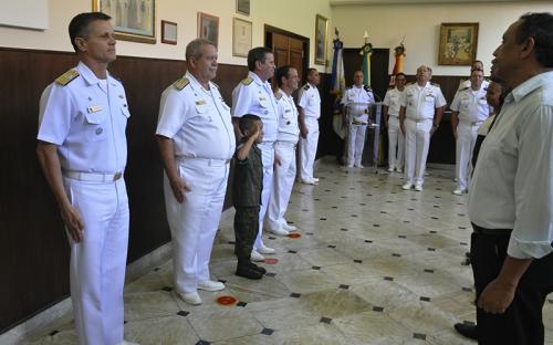 CGCFN realizou homenagem aos servidores civis que servem no Corpo de Fuzileiros Navais