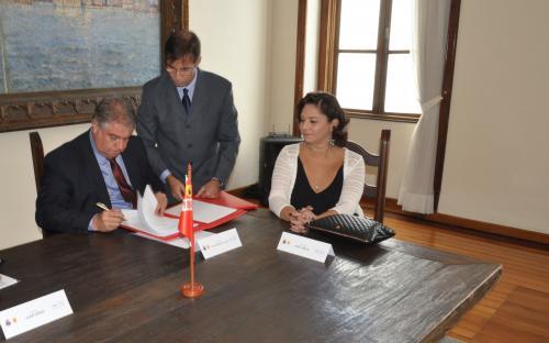 Acordo foi firmado na sede do CGCFN