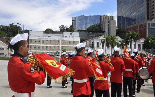 Cerca de 90 militares se apresentaram na ocasião