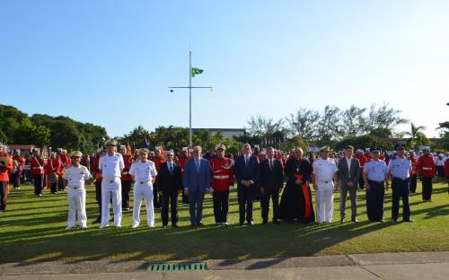 Cerimônia de inauguração contou com a presença de autoridades civis e militares