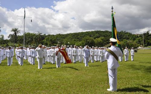 Cerimônia foi realizada na sede da Organização Militar, na Ilha do Governador