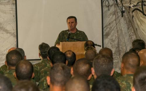ComGerCFN afirma que Fuzileiros Navais estão prontos para a RCA