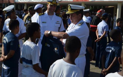 ComGerCFN afirmou que o Corpo de Fuzileiros Navais vai oferecer o apoio necessário para o sucesso do projeto
