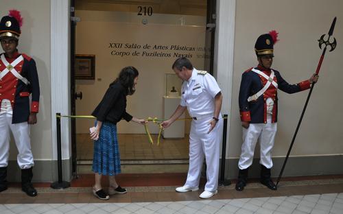 ComGerCFN inaugura XXII Salão de Artes Plásticas