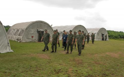 ComGerCFN visita a base instalada no Complexo Naval Caxias Meriti