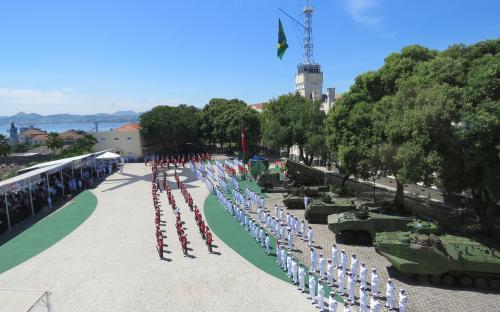 Celebração foi realizada na Fortaleza de São José da Ilha das Cobras