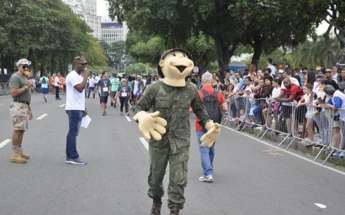 Navalzinho ajudou a animar os participantes