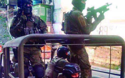 Desde 22 de setembro, 950 militares das Forças Armadas atuaram na comunidade da Zona Sul carioca