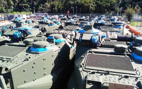 Do Complexo Naval de Itaguaí, os CLAnf serão deslocados para o Batalhão de Viaturas Anfíbias