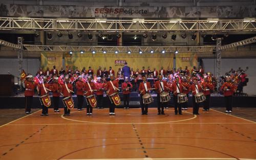 Em Osasco, a apresentação aconteceu no SESI