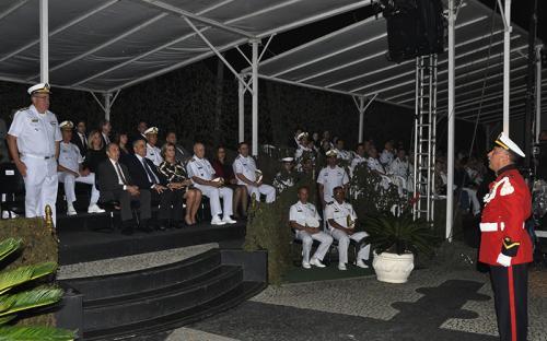 Evento contou com a presença de autoridades civis e militares