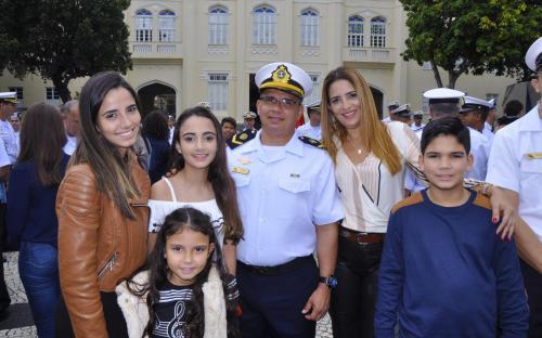 Familiares dos militares promovidos prestigiaram a solenidade