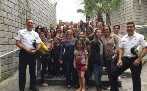 Cerca de 100 pessoas visitaram o Museu do CFN nos dias 9 e 10 de junho