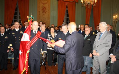 Corpo de Fuzileiros Navais é reconhecido pela ABL com a Medalha Machado de Assis