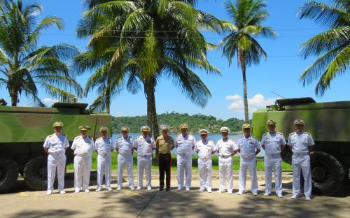 CFN reúne comitivas estrangeiras no Complexo Naval da Ilha do Governador