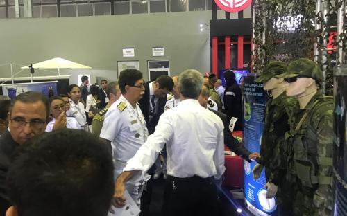 Corpo de Fuzileiros Navais apresentou recentes aquisições da Marinha do Brasil