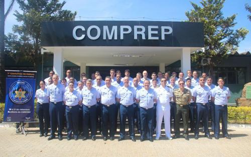 Marinha do Brasil apresentou palestra sobre o Sistema de Defesa Nuclear, Biológica, Química e Radiológica em workshop
