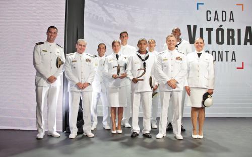 Marinha do Brasil conquista cinco troféus no Prêmio Brasil Olímpico