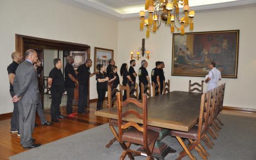 Membros da Associação percorreram sede do CGCFN