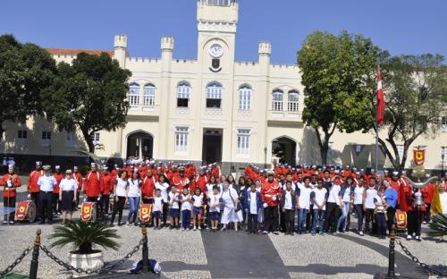 No mesmo dia, a Pastoral do Menor também esteve na Fortaleza de São José
