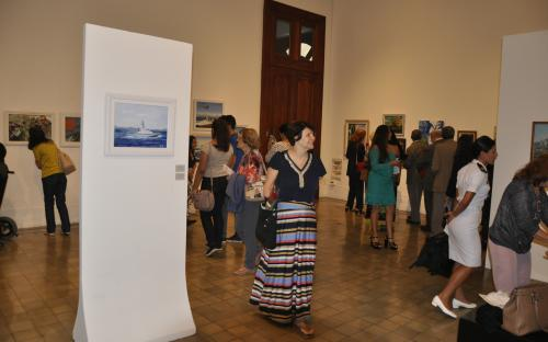 O Salão de Artes Plásticas do CFN tem como propósito estimular e difundir manifestações das artes plásticas