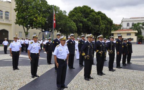 O evento marcou também a imposição da Medalha Mérito Militar e a promoção de Praças