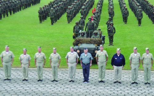 Oficiais-generais do CFN estiveram presentes no evento