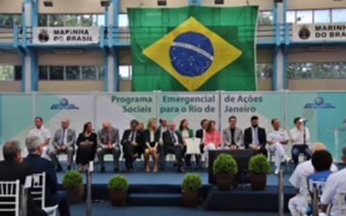 3b384846d View the full image Presidência da República realiza cerimônia de ampliação  de programas sociais no CEFAN
