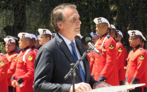 Presidente Jair Bolsonaro ressaltou em seu discurso a importância do CFN para as Forças Armadas