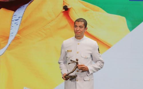 Sargento Uncas Tales Batista venceu a categoria Remo